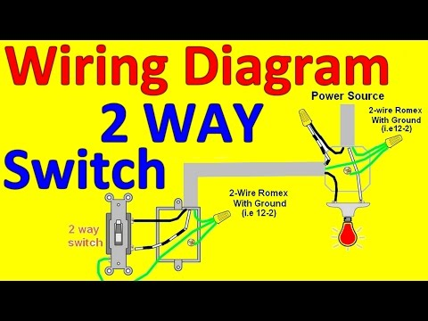 switches relays and wiring diagrams  2 way light switch wiring diagrams