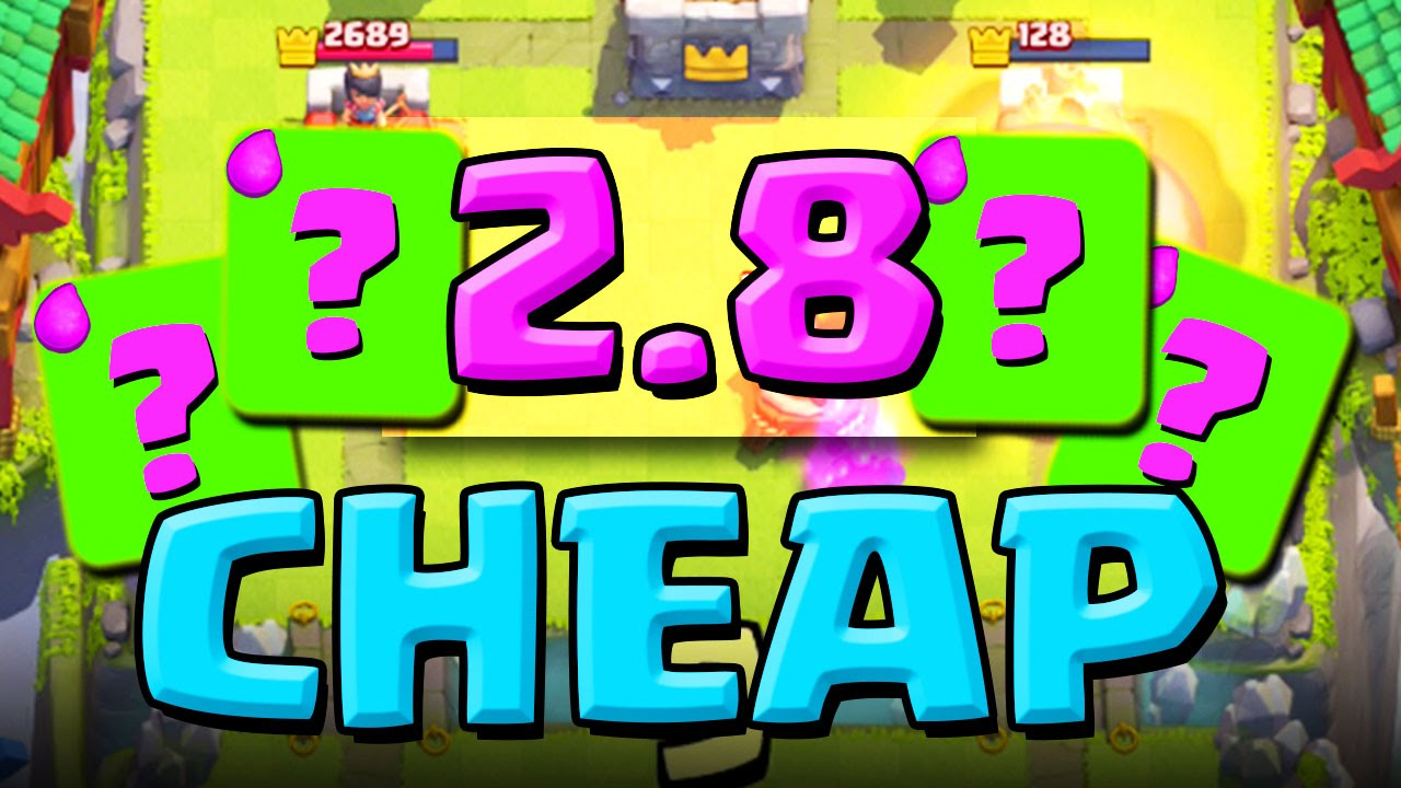 Elixir!? :: Clash Royale :: THIS DECK IS AMAZING! - YouTube