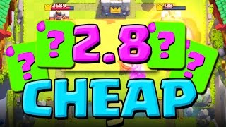 2.8 Elixir!? :: Clash Royale :: THIS DECK IS AMAZING!