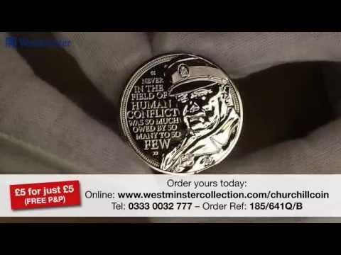 The Winston Churchill £5 Coin