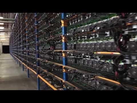 Radio-Canada visite une mine de bitcoin au Québec