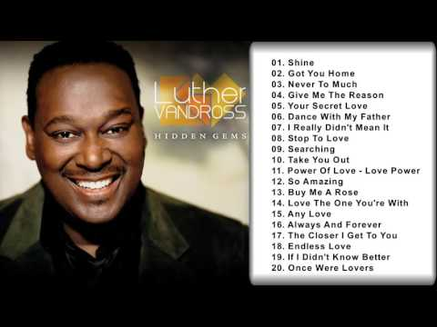 LUTHER VANDROSS: Luther Vandross Greatest Hits Collection