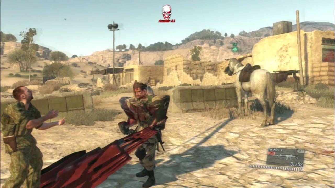Metal Gear Solid V 5 The Phantom Pain Hacktrainer Infinite Health