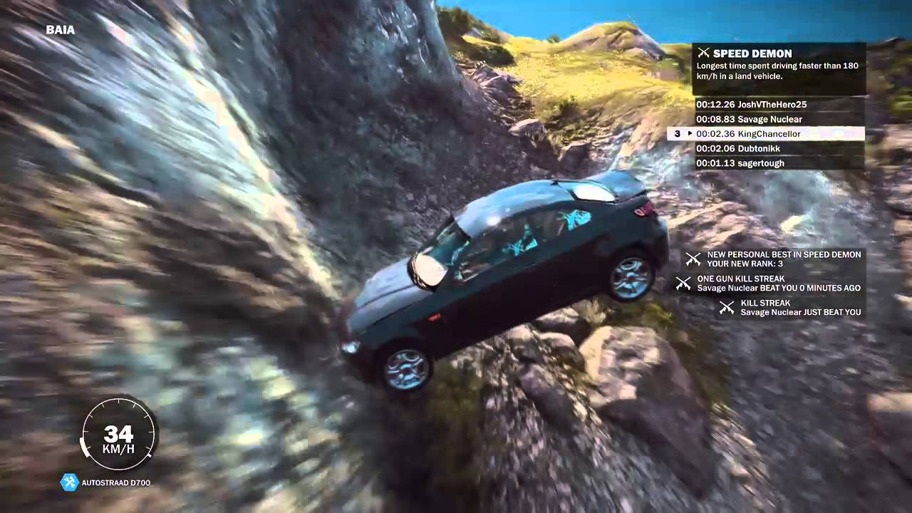 Just Cause 3 Car Crash - YouTube