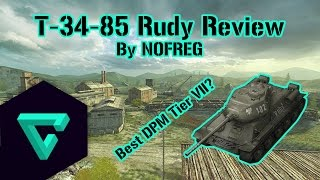 World of Tanks Blitz || T-34-85 Rudy Review