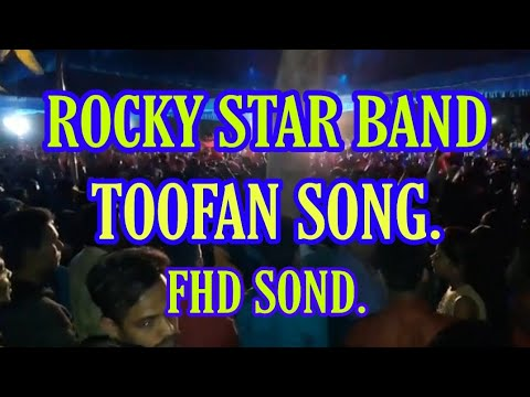Rocky star band party.(Toofan song)...