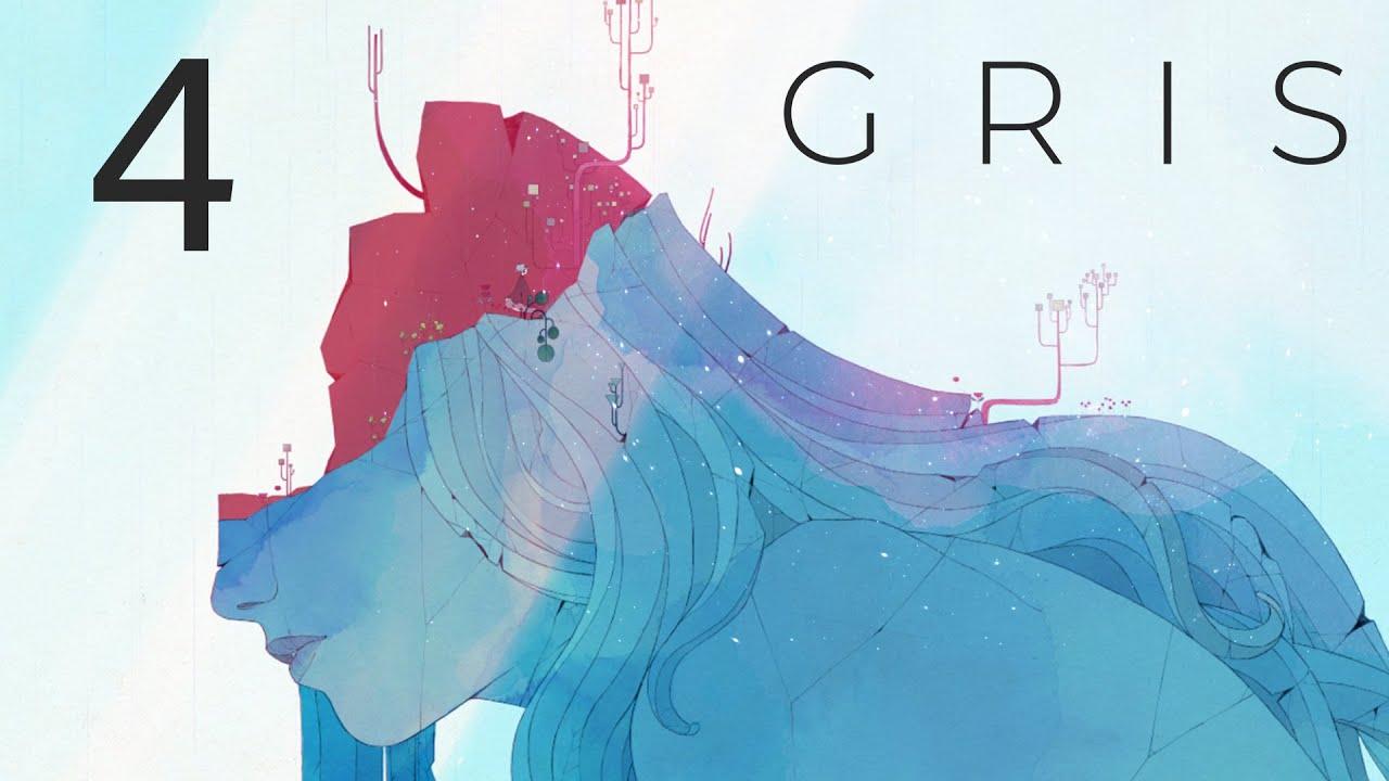GRIS - Прохождение игры на русском - Запись стрима [#4] | PC