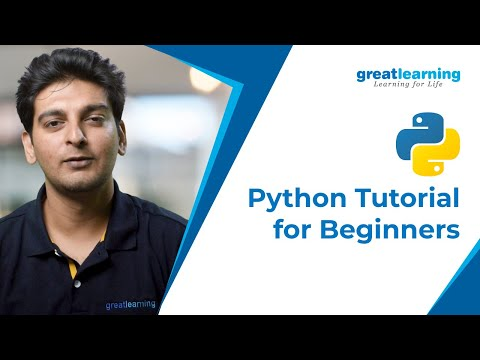Python Tutorial for Beginners | Python Programming | Learn Python | Great Learning thumbnail