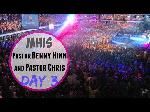 Pastor Benny HINN and Pastor CHRIS in Nigeria - Full Service Day 3 of the MHIS