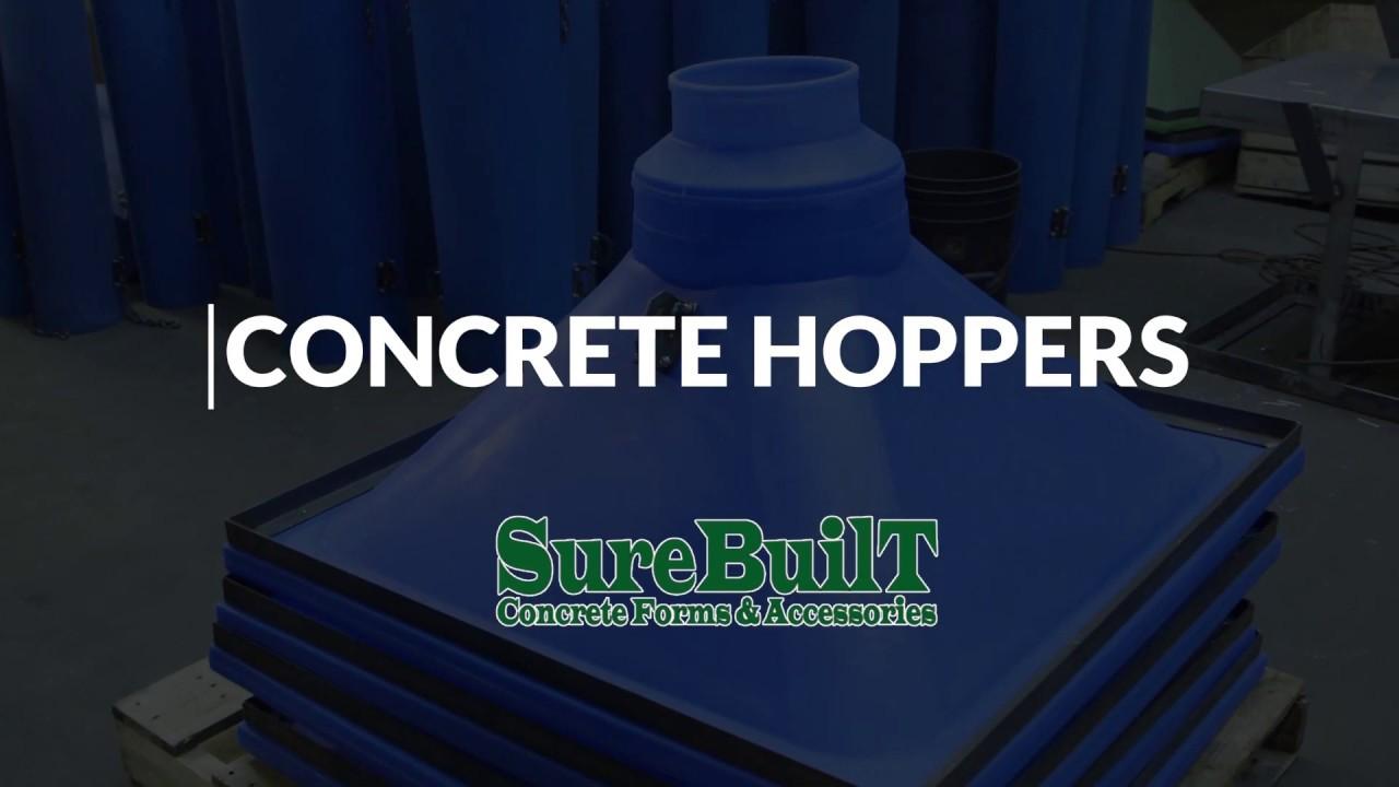 SureBuilt Concrete Hoppers