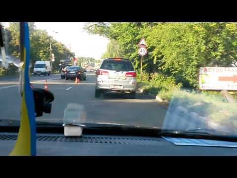Как россияне ездят в Киеве