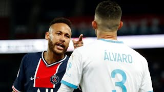 The racist insults that allegedly prompted Neymar to hit Álvaro during PSG-OM | Oh My Goal