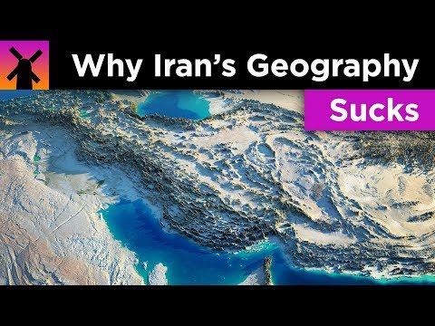 Why Iran's Geography Sucks
