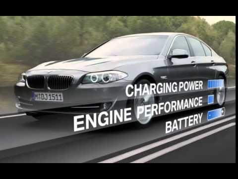 BMW 2010 F10 5 Series   Brake Energy Regeneration
