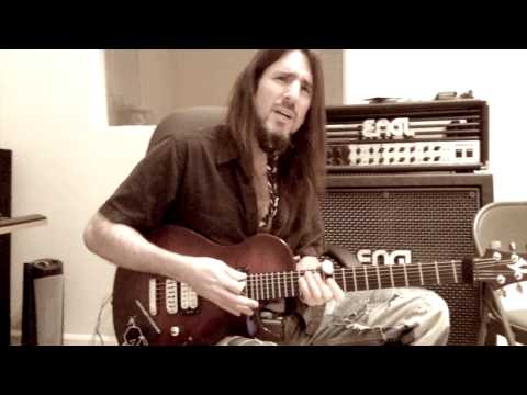 Bumblefoot recording lead guitars to song 'Women Rule the World'
