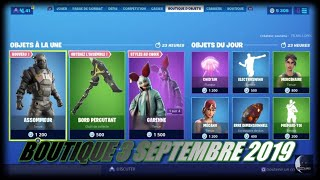 FORTNITE: Shop 3 September, New skin knocker, new hard-hitting edge pick