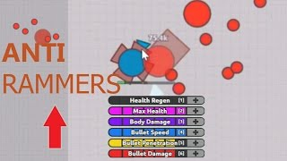 "Diep.io ANTI RAMMERS BUILD ""AFK"" TROLL (OVERLORD)"