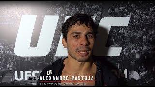 UFC Argentina: Entrevista de backstage com Alexandre Pantoja
