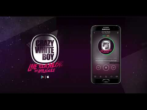 Crazy White Boy ft Apple Gule – Live Your Music (Radio Edit)