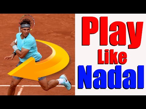 Play Tennis Like The Pros #3 - Rafael Nadal | Tennis Forehand Lesson