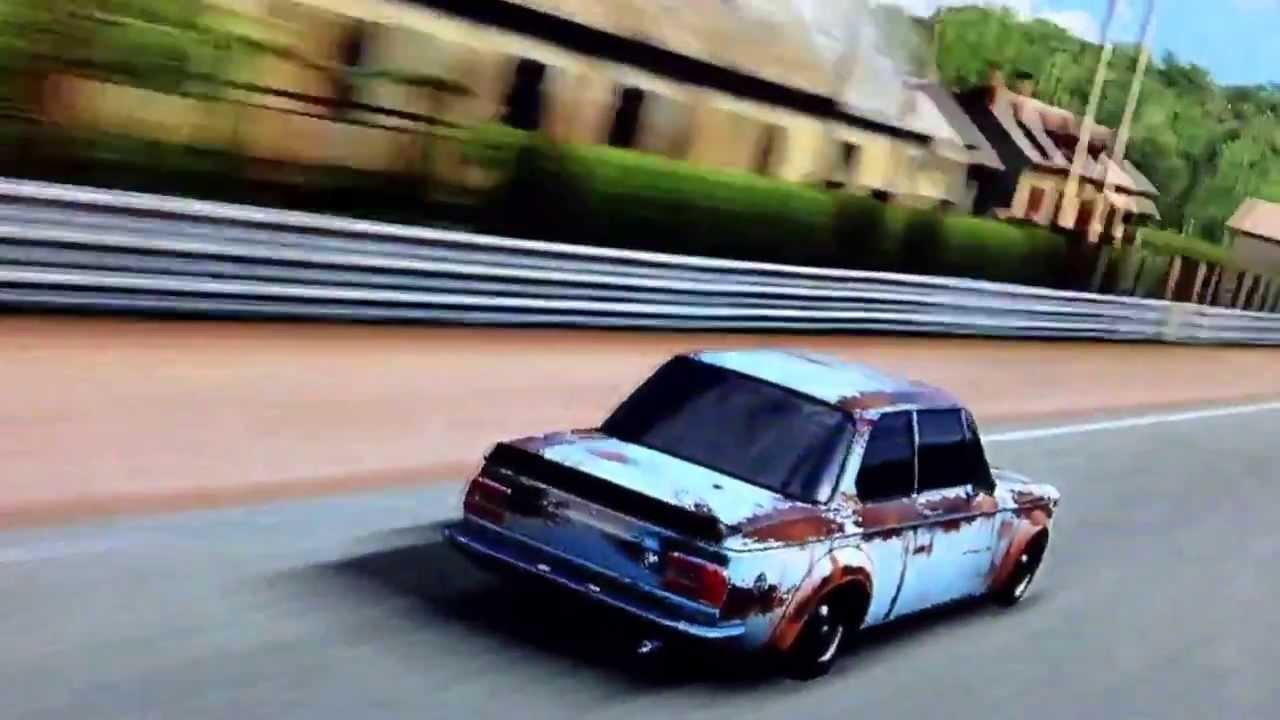 BMW turbo bmw 2002 : 1973 BMW 2002 turbo slammed cruisen forza 4 mods - YouTube