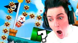 NO PUEDO TOCAR LA META?! Super Mario Maker 2