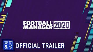 Football Manager 2020 - Announce Trailer