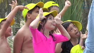 Os nenos e neas disfrutan moito das actividades