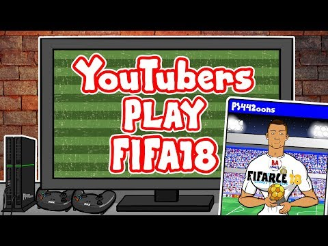 🎮YOUTUBERS play FIFA 18🎮(Feat. F2, Spencer FC, 442oons, KSI vs Joe Weller, Arsenal Fan TV and more!)