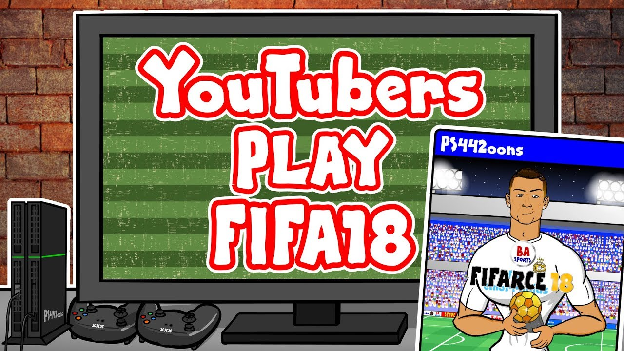 youtubers-play-fifa-18-feat-f2-spencer-fc-442oons-ksi-vs-joe-weller-arsenal-fan-tv-and-more