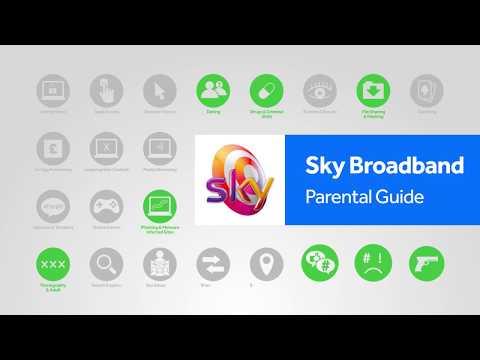 Sky Broadband Shield parental controls step-by-step guide