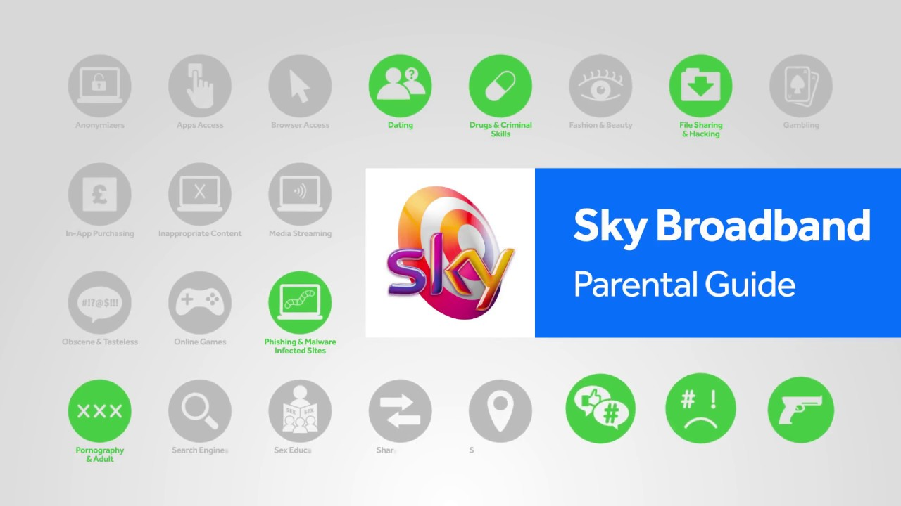Sky Broadband Shield parental controls step-by-step guide | Internet Matters