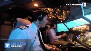 Simulateur de vol : pilotez un avion de ligne en plein Paris