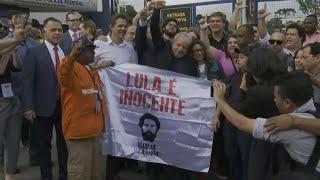 Brazil's Lula walks free from jail | AFP