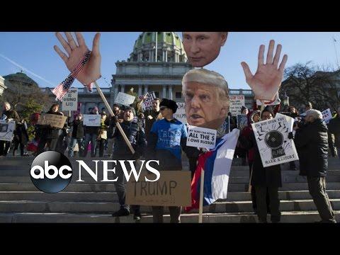 Despite Calls for Protest, Donald Trump Surpasses 270 Electoral Votes