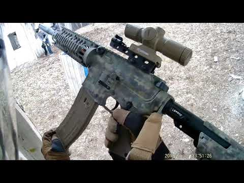Tippmann TMC at Jaegers Paintball in the fort