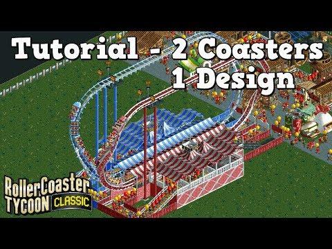 Tutorial - 2 x 6+ Excitement coasters!   GigaCheeze & HyperCheeze   Rollercoaster Tycoon Classic  