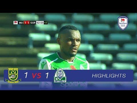 Mathare Utd 1-1 Gor Mahia | EXTENDED HIGHLIGHTS | Sun, 06.01.2019 | SPL 2018-19 Round 06