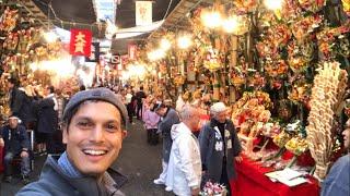 Video Tokyo's Biggest Street Food & Festival Market | Tori no Ichi download MP3, 3GP, MP4, WEBM, AVI, FLV November 2018