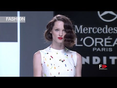 DAVIDELFIN Spring Summer 2013 Madrid - Fashion Channel