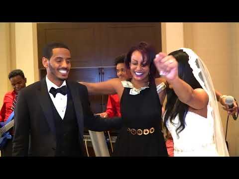 Helen Meles at The Wedding of Dr. Adiam Yonas & Dr. Meron Debesai July15, 2017