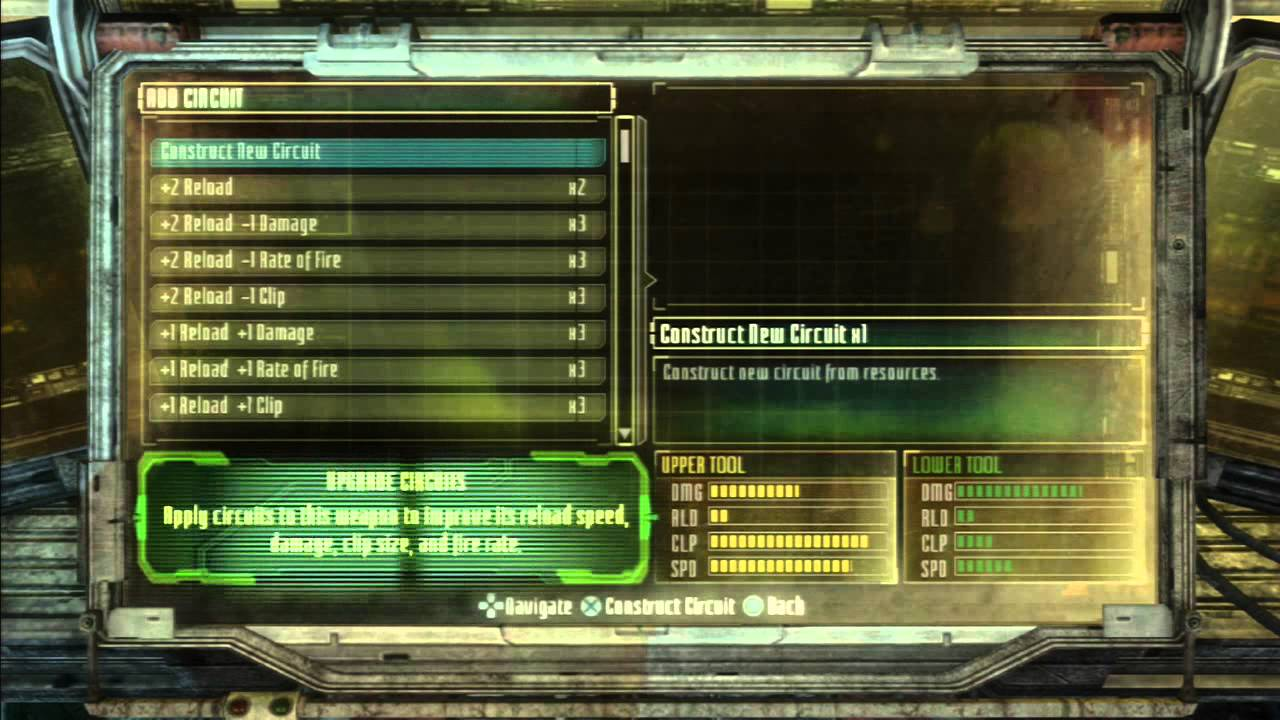 Dead space 3 weapon crafting tutorial how to make the pulse rifle dead space 3 weapon crafting tutorial how to make the pulse rifle hd youtube malvernweather Image collections