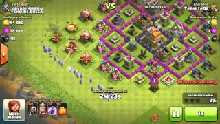 ONLY WIZARD- Attack- Clash of Clans