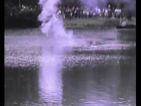 Peasholm Park Scarborough - Naval Warfare - 1973