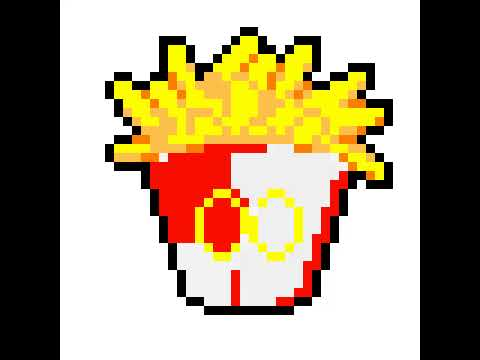 Pixel Mcdonald S Fries