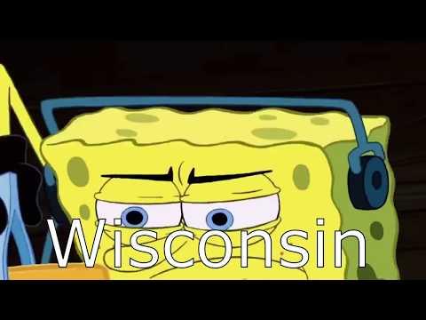 U.S States Portrayed By SpongeBob