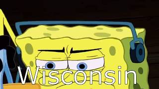 U S States Portrayed By SpongeBob