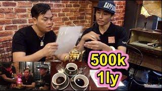 Phúc XO Gọi 5 Ly Cafe Chồn Thượng Hạng Giá 2,5 Triệu Đồng Ở Quán Cafe Đồ Cổ Cực Độc