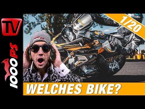 Welches Motorrad soll ich kaufen? Motorradberatung und Vergleich Segmente 1/20