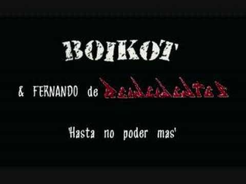 Boikot & Fernando (Reincidentes) - Hasta no poder mas